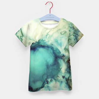 Thumbnail image of Teal Abstract Kid's t-shirt, Live Heroes