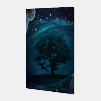 Thumbnail image of Tree Swing In Space Canvas, Live Heroes