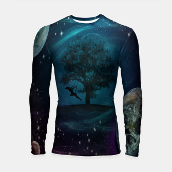 Thumbnail image of Tree Swing In Space Longsleeve rashguard , Live Heroes
