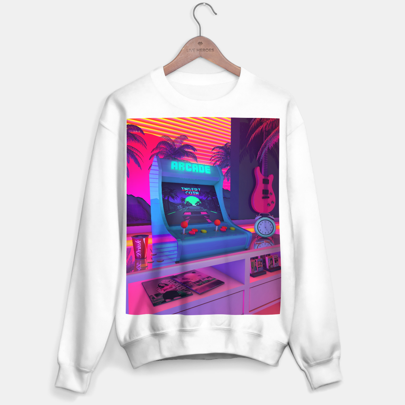 Image of Arcade Dreams Sweater regular - Live Heroes