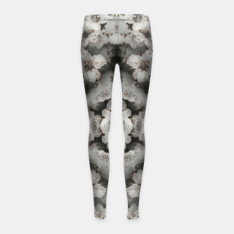 Miniaturka White lace  Girl's leggings, Live Heroes