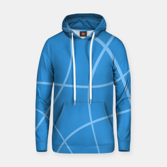 Miniaturka Abstract pattern - blue. Cotton hoodie, Live Heroes
