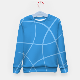 Imagen en miniatura de Abstract pattern - blue. Kid's sweater, Live Heroes