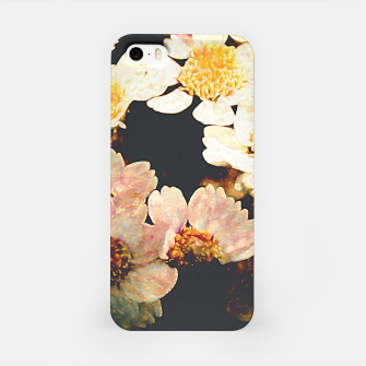 Miniatur Colorful flower pattern iPhone Case, Live Heroes