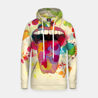 Thumbnail image of Color Tasting Cotton hoodie, Live Heroes