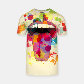 Thumbnail image of Color Tasting T-shirt, Live Heroes