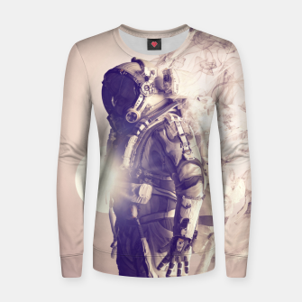 Imagen en miniatura de Disappearance Woman cotton sweater, Live Heroes