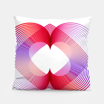 Miniaturka Geomtric abstract hearth Pillow, Live Heroes