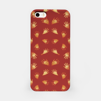 Imagen en miniatura de Primitive Art Hands Motif Pattern iPhone Case, Live Heroes