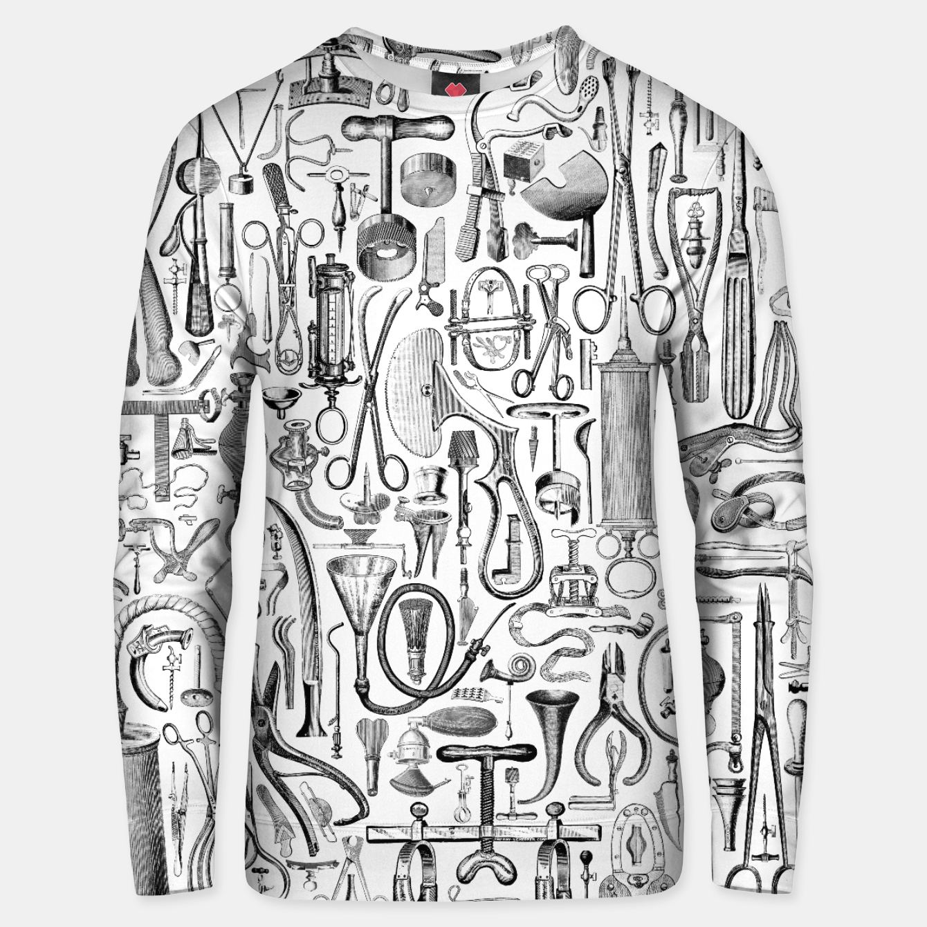 Image of Medical Condition B&W Cotton sweater - Live Heroes