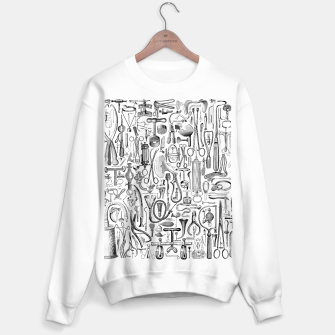 Thumbnail image of Medical Condition B&W Sweater regular, Live Heroes