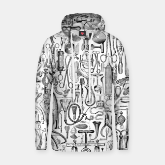 Thumbnail image of Medical Condition B&W Cotton hoodie, Live Heroes