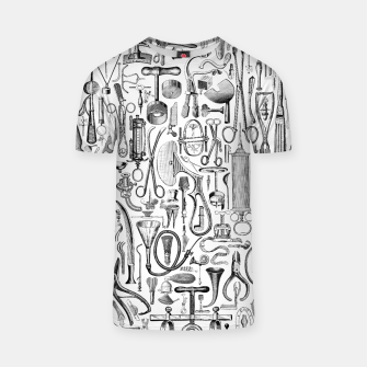 Thumbnail image of Medical Condition B&W T-shirt, Live Heroes