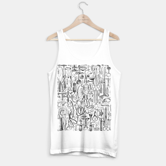 Thumbnail image of Medical Condition B&W Tank Top regular, Live Heroes