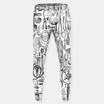 Thumbnail image of Medical Condition B&W Cotton sweatpants, Live Heroes