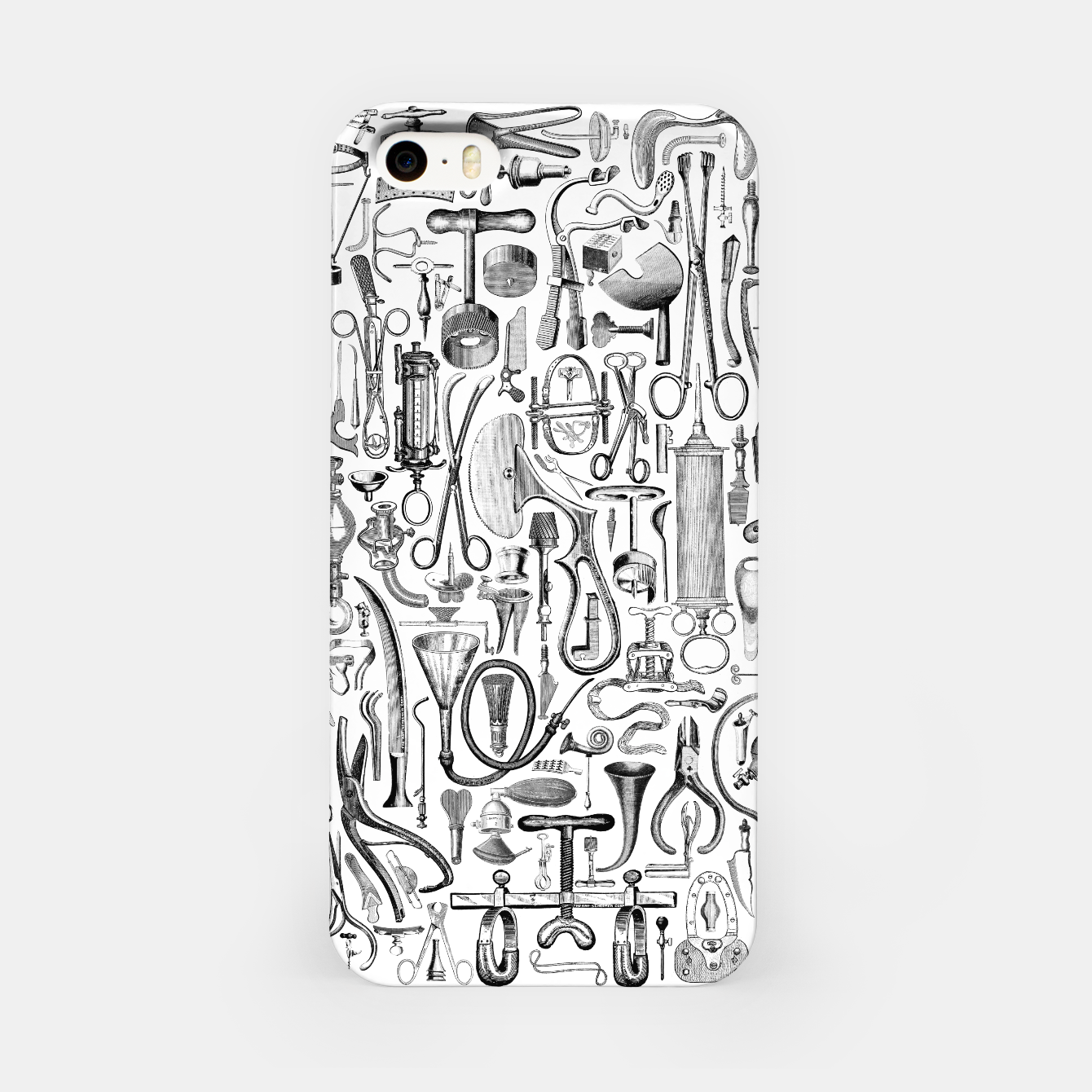 Image of Medical Condition B&W iPhone Case - Live Heroes