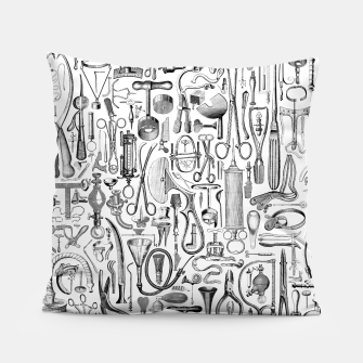 Thumbnail image of Medical Condition B&W Pillow, Live Heroes