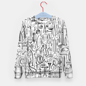 Imagen en miniatura de Medical Condition B&W Kid's sweater, Live Heroes