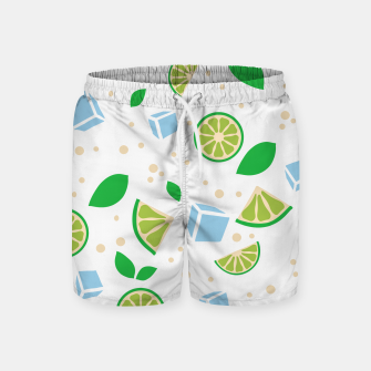 Thumbnail image of Cocktail on the Beach - Mojito - Swim Shorts, Live Heroes