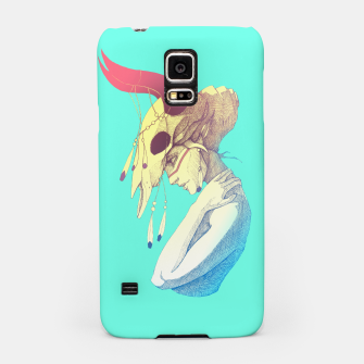 Miniature de image de Woman & Skull Color version Samsung Case, Live Heroes