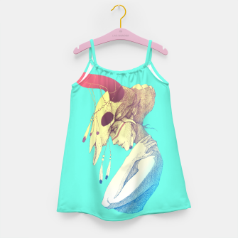 Miniature de image de Woman & Skull Color version Girl's dress, Live Heroes