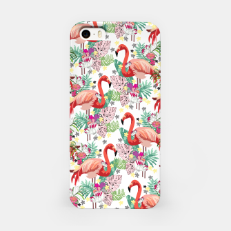Imagen en miniatura de Flamingo Land iPhone Case, Live Heroes