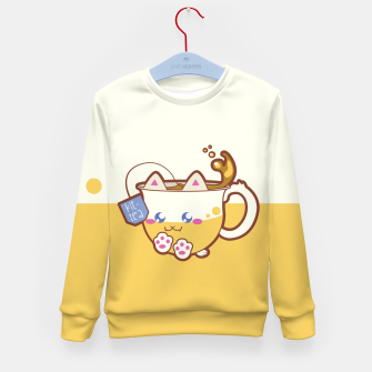 Imagen en miniatura de Kittea Yellow Kid's sweater, Live Heroes