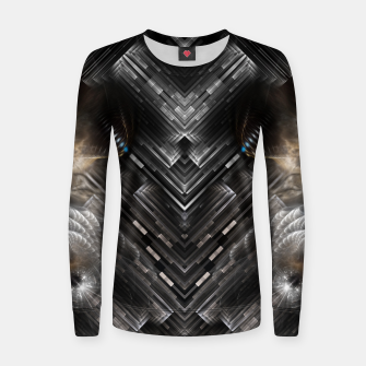 Thumbnail image of M315RL90Fractilus Woman cotton sweater, Live Heroes