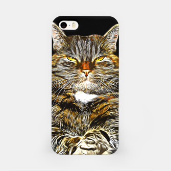 Imagen en miniatura de gxp katze cat like a boss vector art iPhone-Hülle, Live Heroes