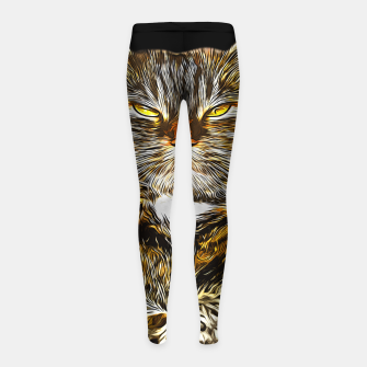 Miniaturka gxp katze cat like a boss vector art Kinder-Leggins, Live Heroes
