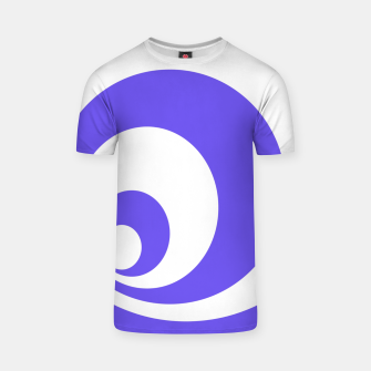 Miniatur Abstract blue. T-shirt, Live Heroes