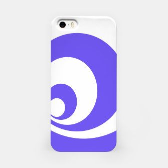 Miniatur Abstract blue. iPhone Case, Live Heroes