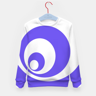 Imagen en miniatura de Abstract blue. Kid's sweater, Live Heroes