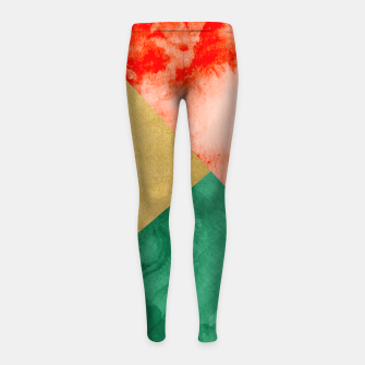 Miniaturka Holiday Spirit Girl's leggings, Live Heroes