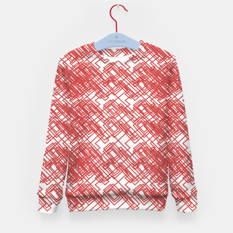 Imagen en miniatura de Kids sweater red FOLK BLOCKS ON W., Live Heroes