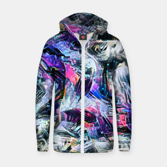 Thumbnail image of Barakudas Cotton zip up hoodie, Live Heroes
