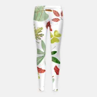 Miniaturka Autumn II Girl's leggings, Live Heroes