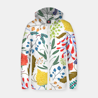 Thumbnail image of Charm  Cotton zip up hoodie, Live Heroes