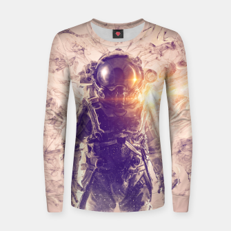 Imagen en miniatura de Disappearance II Woman cotton sweater, Live Heroes