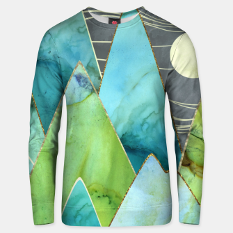 Thumbnail image of Moonlit Mountains Cotton sweater, Live Heroes