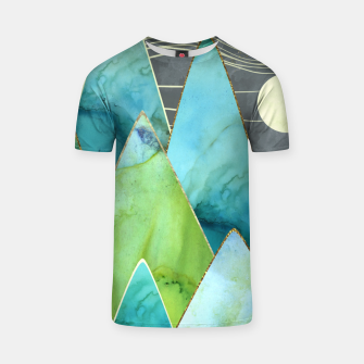 Thumbnail image of Moonlit Mountains T-shirt, Live Heroes