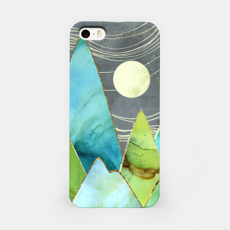 Imagen en miniatura de Moonlit Mountains iPhone Case, Live Heroes