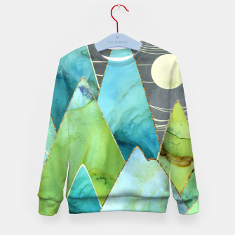 Imagen en miniatura de Moonlit Mountains Kid's sweater, Live Heroes