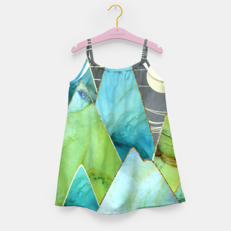 Thumbnail image of Moonlit Mountains Girl's dress, Live Heroes