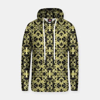 Miniaturka Golden Ornate Intricate Pattern Cotton hoodie, Live Heroes