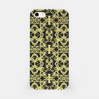 Imagen en miniatura de Golden Ornate Intricate Pattern iPhone Case, Live Heroes