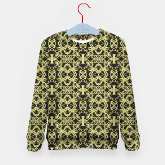 Imagen en miniatura de Golden Ornate Intricate Pattern Kid's sweater, Live Heroes