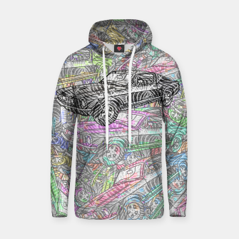Thumbnail image of keep driving Cotton hoodie, Live Heroes