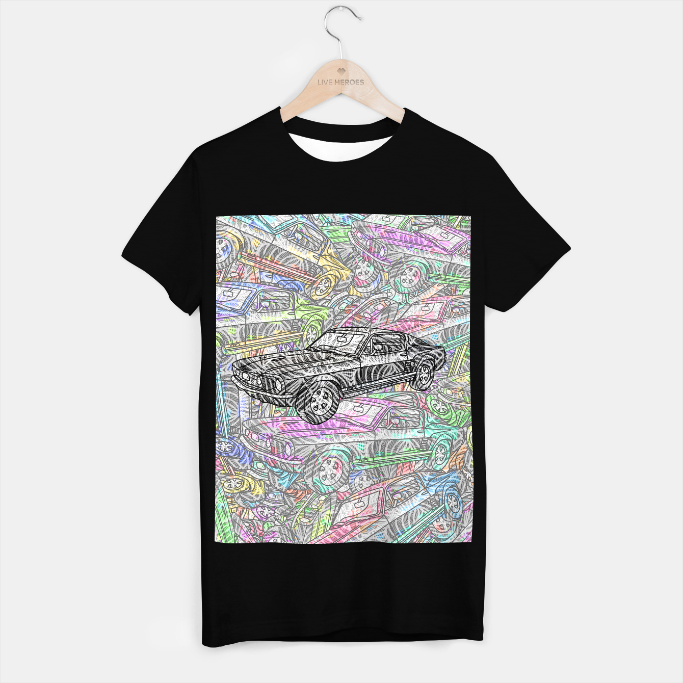 Image of keep driving T-shirt regular - Live Heroes
