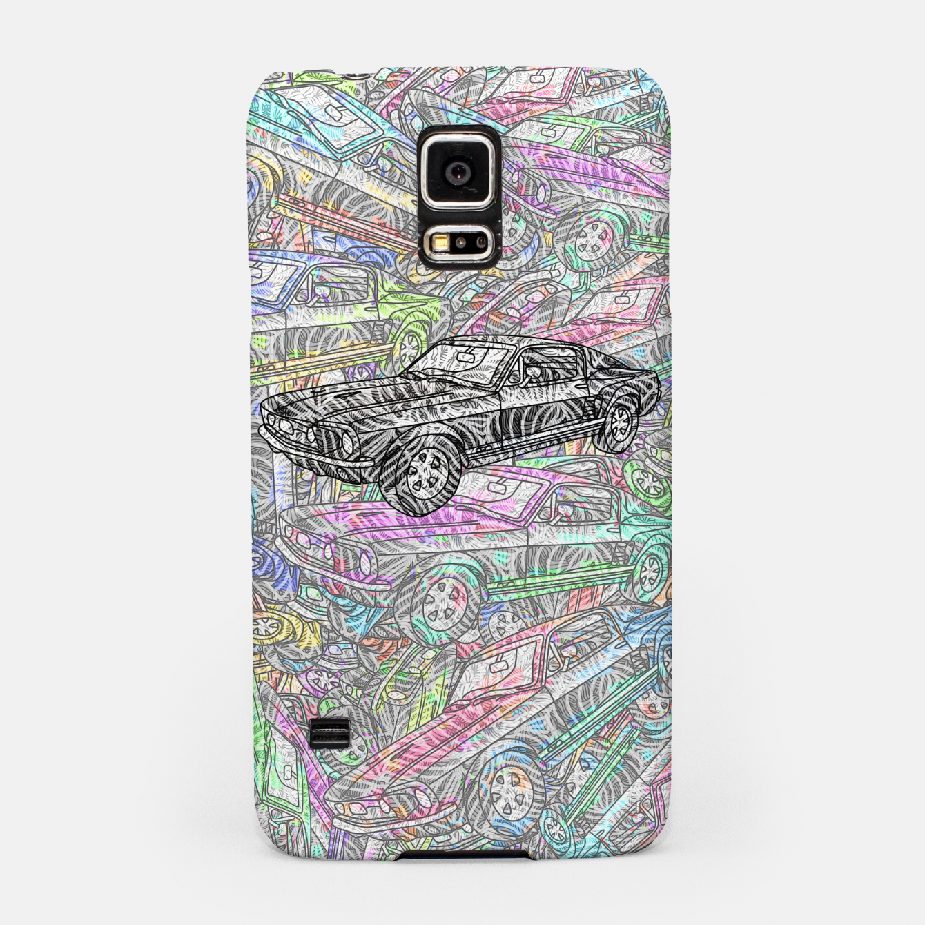 Image of keep driving Samsung Case - Live Heroes